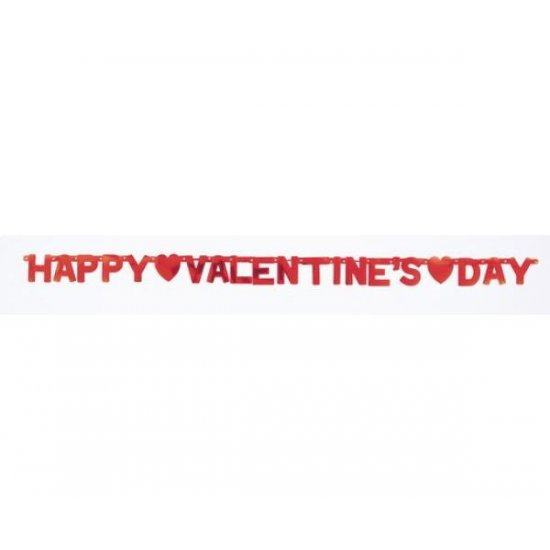 letter Banner Happy Valentines Day