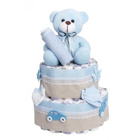 Diapercake newborn - its Βoy 2