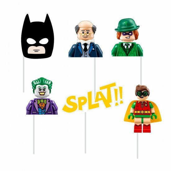 Photobooth Props Lego Batman (6 τεμ)