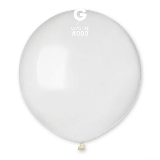 48cm - 19'' Διάφανο μεγάλο μπαλόνι