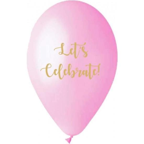 Μπαλόνι τυπωμένο Let's celebrate