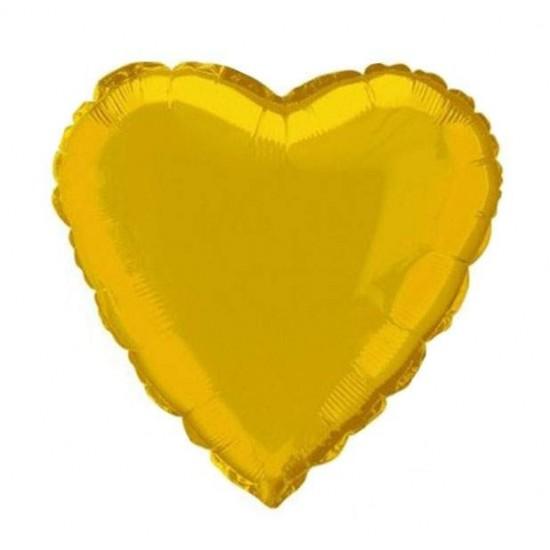 Μπαλόνι foil χρυσή καρδιά 18''