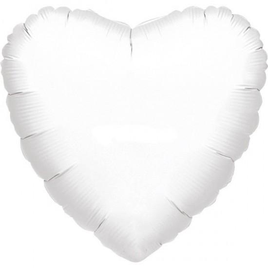 Μπαλόνι foil άσπρη καρδιά 36''