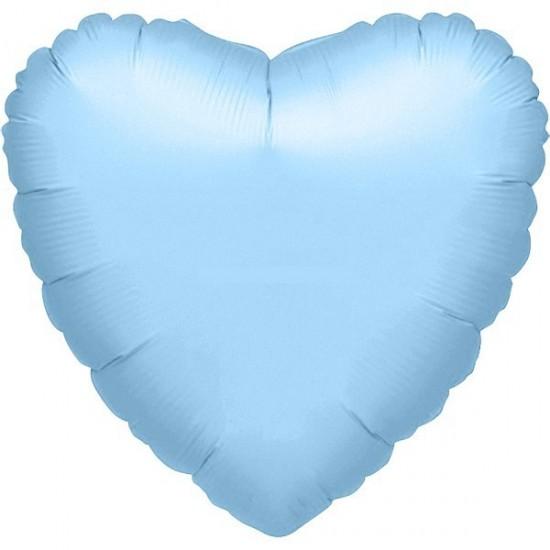 Μπαλόνι foil γαλάζια καρδιά 36''
