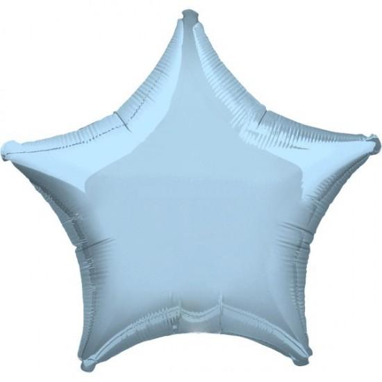 """Μπαλόνι foil αστέρι 32"""" Γαλάζιο"""
