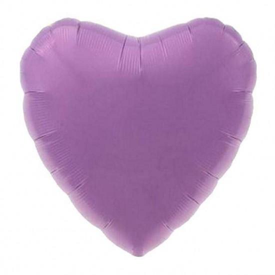 Μπαλόνι foil λιλά καρδιά 18''