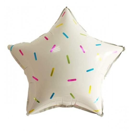 Μπαλόνι με πιτσιλιές αστέρι 18''