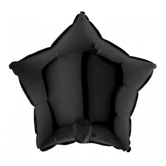 Μπαλόνι foil μαύρο αστέρι 18''