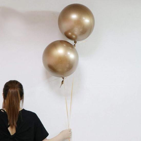 Μπαλόνι Chrome χρυσή σφαίρα 18''