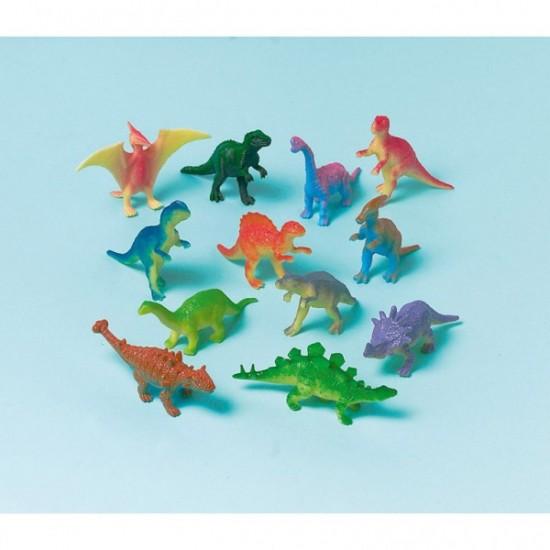 Μίνι Φιγούρες Δεινόσαυροι 12 τεμ