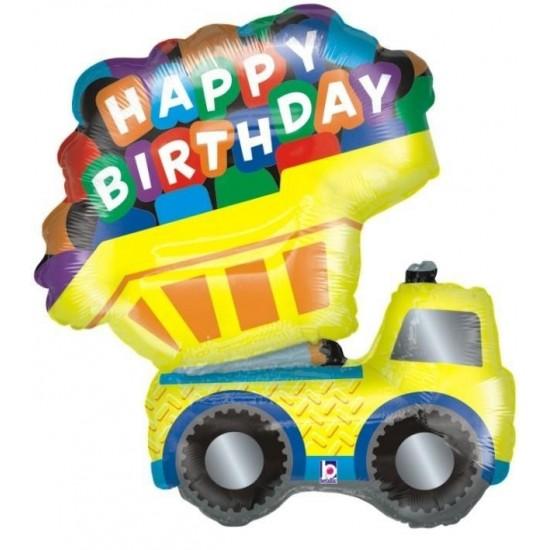 Μπαλόνι για γενέθλια Φορτηγό 'Happy Birthday'