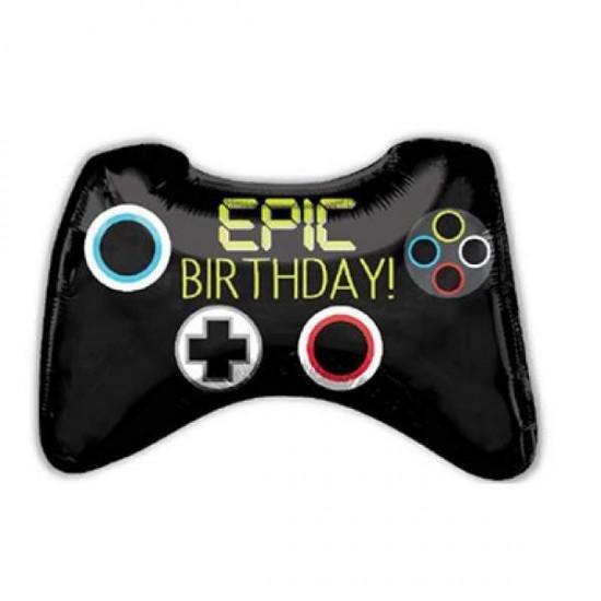 Μπαλόνι για γενέθλια χειριστήριο 'Epic Birthday'