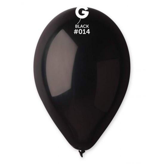 12'' Μαύρο λάτεξ μπαλόνι