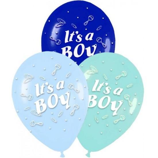 12″ Μπαλόνι Its a boy κουδουνίστρα