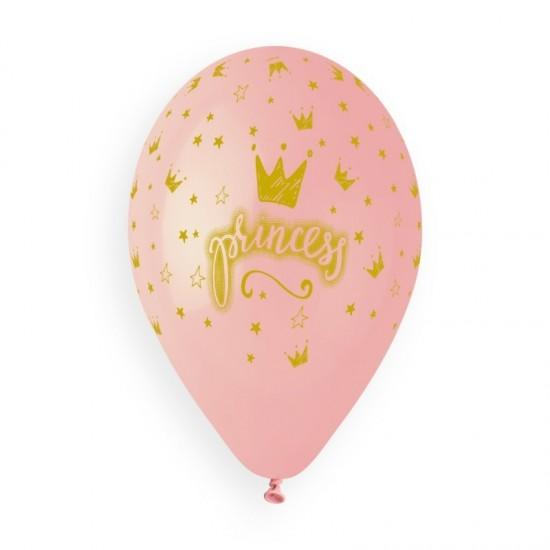 13″ Μπαλόνια τυπωμένα Princess ροζ
