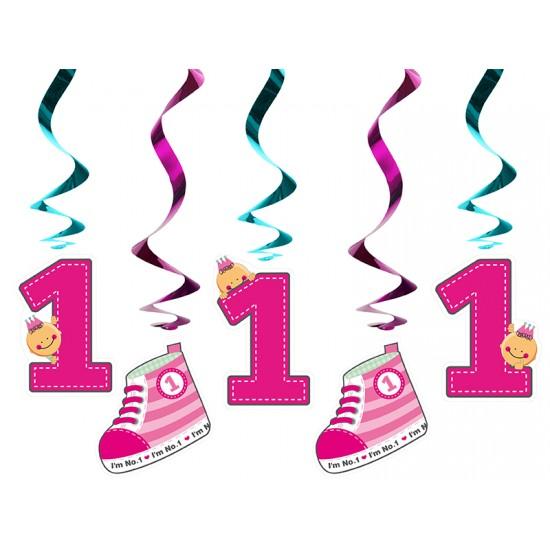 Διακοσμητικά Οροφής Swirls I'm No 1 Ροζ