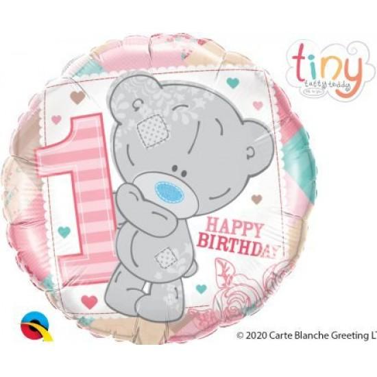 Μπαλόνι Αρκουδάκι 1st Birthday Girl